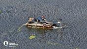 Реку Миасс врайоне новой набережной дополнительно очищают отмусора