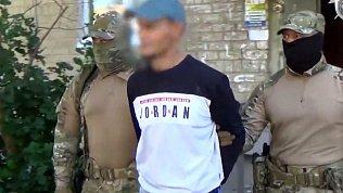 Оперативная съемка задержания подозреваемых в терроризме челябинцев