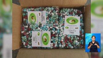 Фуру с китайскими конфетами задержали в Челябинске
