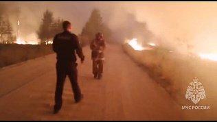 В Челябинской области из‑за сильного ветра возникло четыре природных пожара
