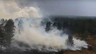 На юге Челябинской области потушили пожары