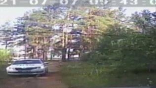 Появились кадры погони сотрудников полиции за угонщиком в Златоусте