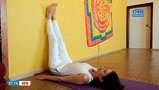 Простая йога — упражнения при физической усталости