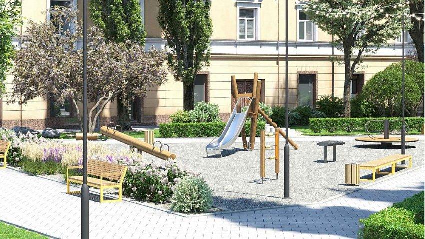 В Ленинском районе появится новый сквер