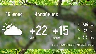 В Челябинской области снова немного потеплеет
