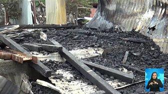 У пенсионера сгорело единственное жилье