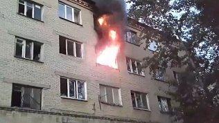 В Златоусте 42 человека эвакуировали из горящего дома