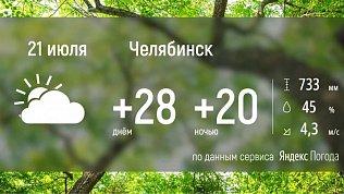 Южный Урал вновь ждет дождливая погода