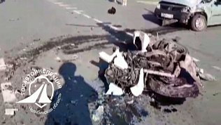 ДТП со смертельным исходом: видео сотрудников ГИБДД