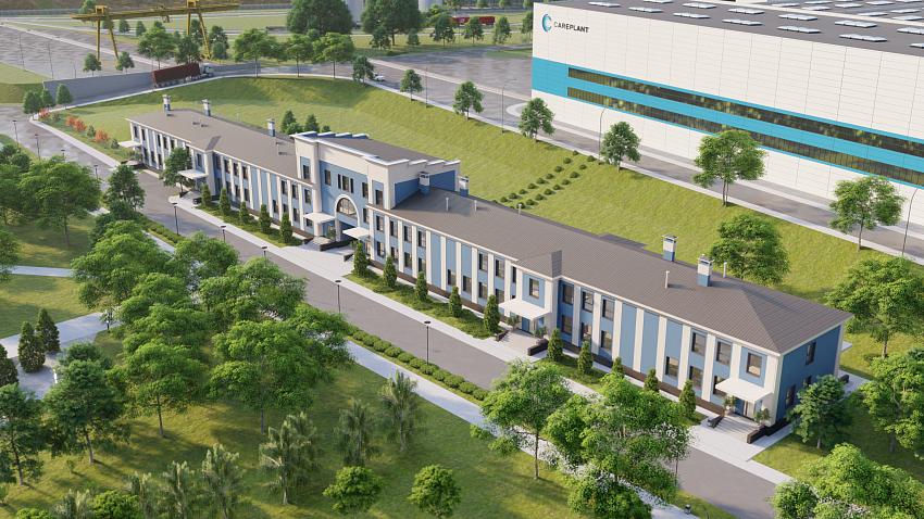 Инвестор показал, как будет выглядеть цинковый завод на месте «Уфалейникеля»