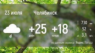 На Южном Урале ожидается небольшое похолодание