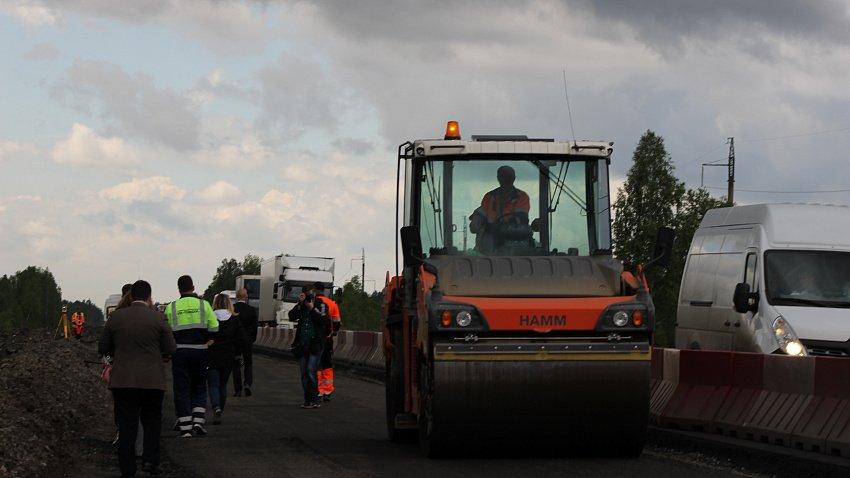 В Челябинской области отремонтируют шесть километров дороги в направлении Екатеринбурга