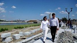 Строительство набережной в центре Челябинска вышло на финишную прямую