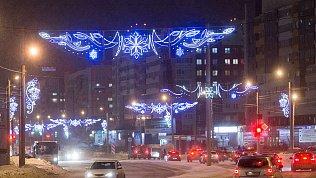 Мэрия Челябинска снова предлагает 100млн рублей зановогоднюю иллюминацию