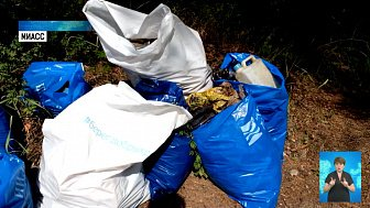 На Тургояке провели экологический субботник