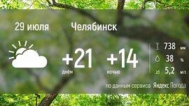 В Челябинской области потеплеет на несколько градусов