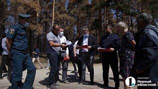 Уральский полпред проинспектировал восстанавливаемые после пожаров Джабык и Запасное