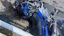В Челябинске байкер пострадал вДТП синомаркой