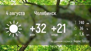 В Челябинской области продолжается аномально жаркое лето