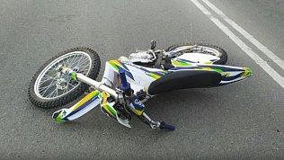 В Челябинске заодин день произошло три ДТП смотоциклами