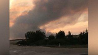 В Брединском районе из-за лесного пожара эвакуировали детский лагерь