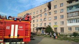 В Челябинской области пожарные спасли отогня 9‑летнюю девочку