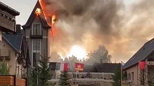 В Челябинской области ликвидировали пожар вжилом доме депутата Заксобрания