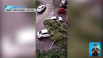 Последствия грозы на Южном Урале