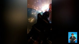 Мужчина едва не поджег многоквартирный дом