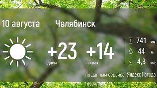 В Челябинской области ожидают теплую погоду