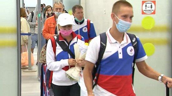 В Челябинск вернулся участник Олимпийских игр Василий Мизинов