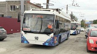 В Миассе обкатывают новые московские троллейбусы