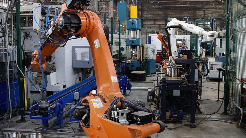ЧКПЗ запустил роботизированный комплекс для обработки подшипниковых колец