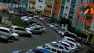 В Челябинске попал на видео взрыв в квартире