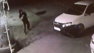 Подростки, разбивающие машину в поселке Шагол, попали на видео