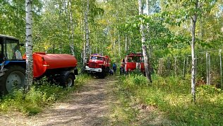 Жители Челябинской области могут помочь втушении лесного пожара возле лагеря подМагнитогорском