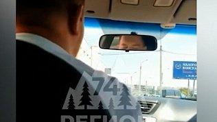 В Магнитогорске конфликт таксиста с пассажирами попал на видео