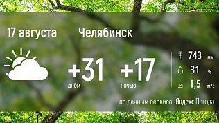 На Южном Урале сохранится жаркая погода