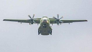 В Подмосковье вовремя тренировочного полета разбился военный самолет