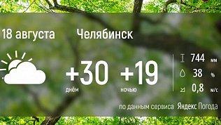 В Челябинской области вновь будет жаркая погода