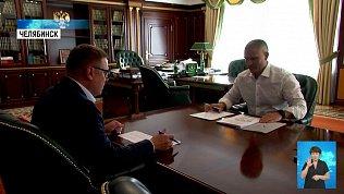 Текслер встретился с руководителем регионального ОНФ