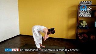 Упражнения для растяжки в рубрике «Простая йога»
