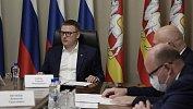 Алексей Текслер и руководство «Новапорт» обсудили субсидируемые маршруты