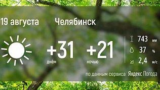 В Челябинскую область возвращается аномальная жара