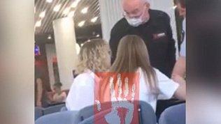 В челябинском ТРК охранник ударил по лицу девочку