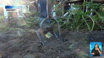 Вилы-качели для сбора урожая сделал южноуралец