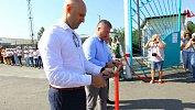 В Кунашаке открыли реконструированный стадион