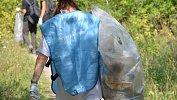 В Челябинской области волонтеры собрали 100мешков мусора сберега Южноуральского водохранилища