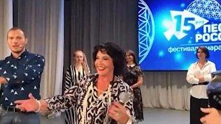 Надежда Бабкина посетила Челябинск и Кыштым в рамках фестиваля «Песни России»