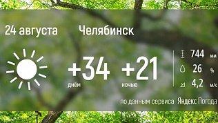 В Челябинской области новая неделя начинается с аномальной жары